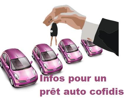 pret auto cofidis