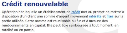 renouvelable