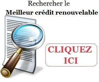 meilleur credit renouvelable