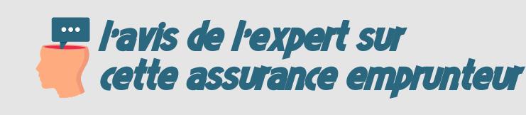 avis assurance emprunteur