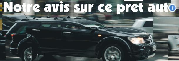 avis sur pret auto