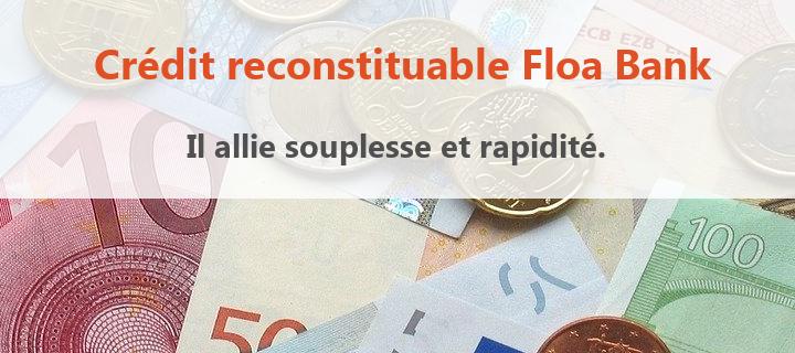 credit renouvelable floa bank