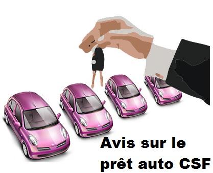 pret auto csf