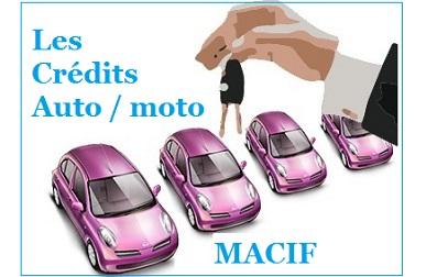 credit auto macif