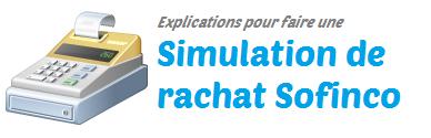 simulation rachat sofinco