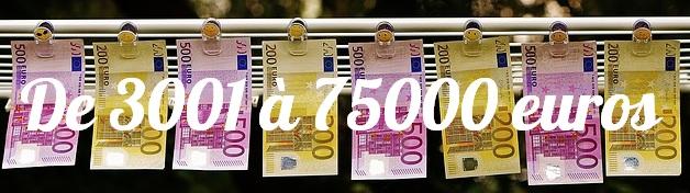 montant en euros