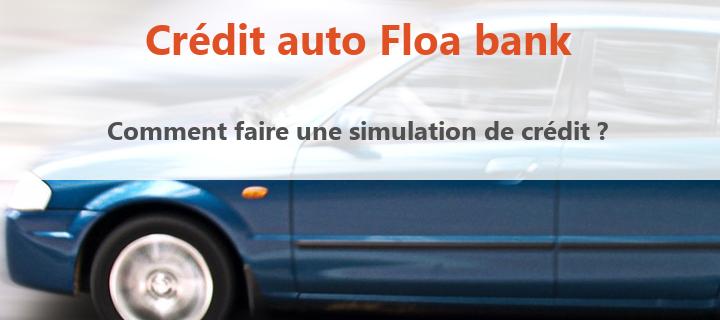 simulation crédit floa bank